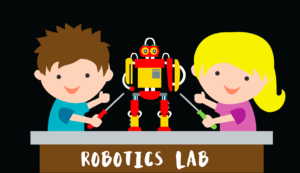 Kids learn programming with robots
